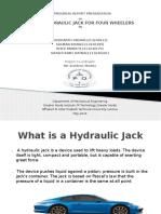 Design of Inbuilt Hydraulic Jack