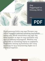 Ang Paggalugad sa Gitnang Africa.pptx