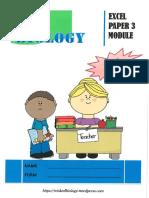 Excel Paper 3 Module Answer Scheme