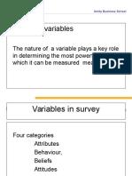 Attitude Scales