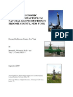 Weinstein & Clower - Potential Economic and Fiscal Impacts From Natural Gas Production...