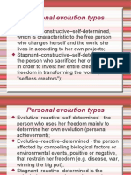 Psihologia Educatiei - Evolutie Psihica