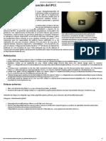 Quinto Informe de Evaluación Del IPCC - Wikipedia, La Enciclopedia Libre