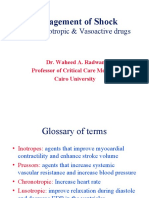 Vasoactive Drugs