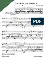 Liszt Etude Sospiro