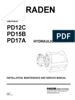 Braden PD Series Hydraulic Winch