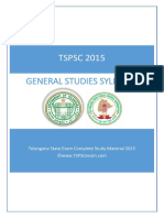 Tspsc Group 2 Syllabus