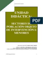 Unidad Didactica. Sectores Poblacion. Menores