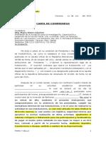 Modelo de Carta de Compromiso Fundafiscal Agosto 2015
