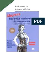 Guía de Movimientos de Musculación Para Mujeres