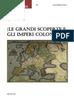 Le grandi scoperte e gli imperi coloniali.