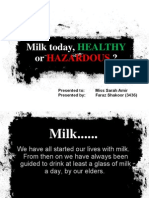 Adulteration in Milk