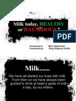 Adulteration in Milk
