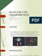 Medicion Con Dinamometros