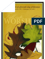 First Church of Seventh-day Adventists Fall Bulletin (2009)
