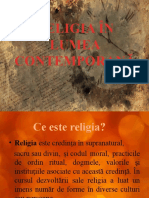 Religia in Lumea Contemporana