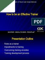 Effective Trainer