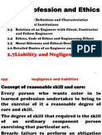 EppCHII Negligence and Liabilities
