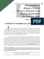 La Reconciliación de Colombia a La Luz Del PyF
