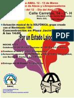 II Convención de Ateos y Librepensadores. 12-13 de marzo en Madrid