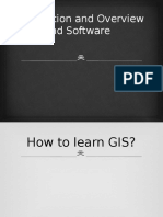 Introduction and Overview of GIS and Software