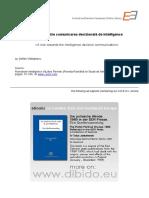 O Privire Către Comunicarea Decizională de Intelligence