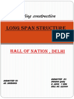 Case Study of Long Span Structure