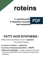 4.LIPIDS Anabolism