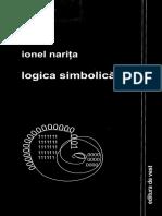 Ionel Narita - Logica Simbolica