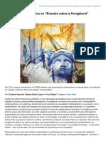 Arrogância - Ensaios sobre a Arrogância.pdf