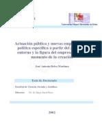 Actuación pública y nuevas empresas, una política específica.pdf