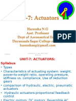 Unit 7 Actuators