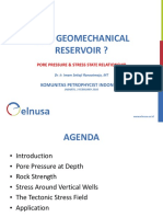 Why Geomechanical Reservoir Kpi