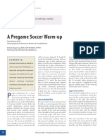 Hagerman Et Al. (2006). a Pre Game Soccer Warm Up.