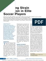 Hamstring Prevention in Elite Soccer Players