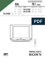 Sony Kv-25c5d