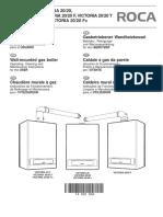 Manual Caldera Victoria 20F