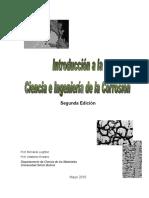 Ciencia e Ingenieria de La Corrosion. prof. Adalberto Rosales y Leighton