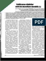 Calificarea Cladirilor in Parametrii de Dezvoltare Durabila