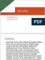 Varicella Idk Case 3 Blok Tm