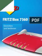 Handbuch für die FRITZ Box 7360 SL