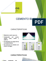 Cemento Blanco - Exp