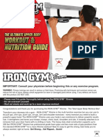 Iron Gym Xtreme Work Out and Nutrition Guide