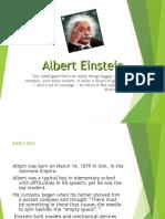 Presentacion Albert Einstein