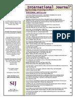 SIJ Vol. 11 No. 1