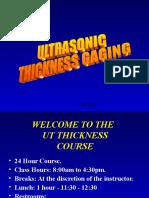Ut Thickness