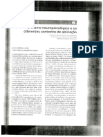 Cap 6 - O exame neuropsicológico e os diferentes contextos de aplicação