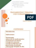 Tratamientos y Terapiascon Ultrasonido