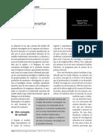 Tuson, A. y Vera, M. (2011) Investigar Para Enseñar