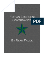 For an Emergent Governance